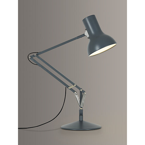 Buy Anglepoise Type75 Mini Task Lamp, Slate Online at johnlewis.com