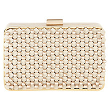 Buy Coast Qinta Clutch Bag, Pearl Online at johnlewis.com