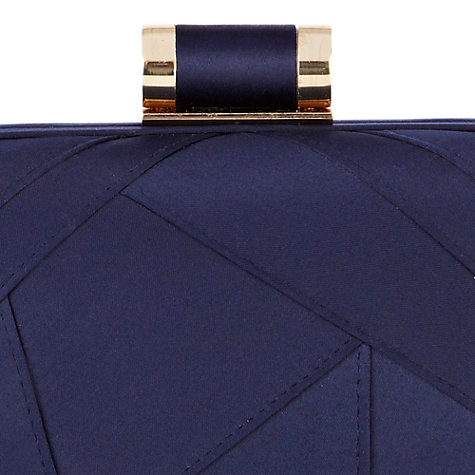 Buy Coast Neiva Clutch Bag, Navy Online at johnlewis.com