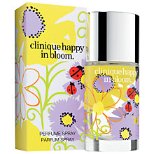 Buy Clinique Happy In Bloom Perfume Spray, 30ml Online at johnlewis.com
