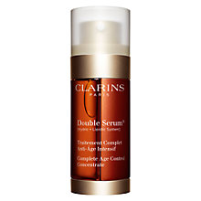 Buy Clarins New Double Serum, 30ml Online at johnlewis.com