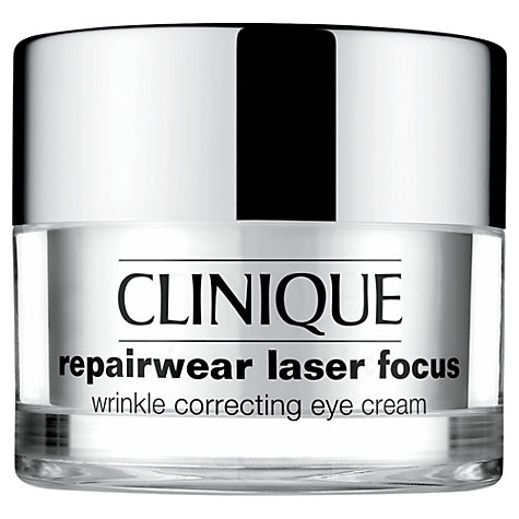 Buy Clinique Repairwear Repairwear Laser Focus Wrinkle Correcting Eye Cream, 15ml Online at johnlewis.com