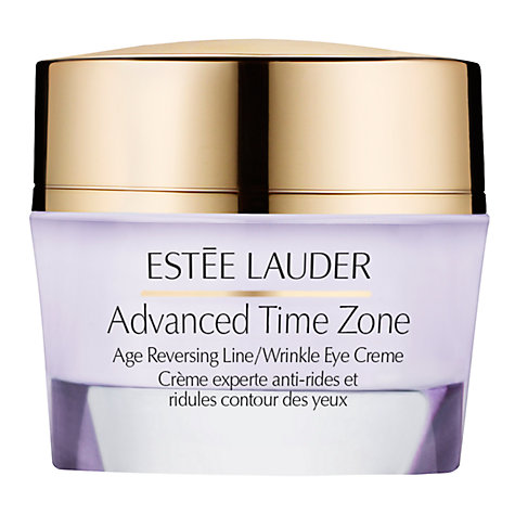 Buy Estée Lauder Advanced Time Zone Age Reversing Line/Wrinkle Eye Creme, SPF 15, 50ml Online at johnlewis.com