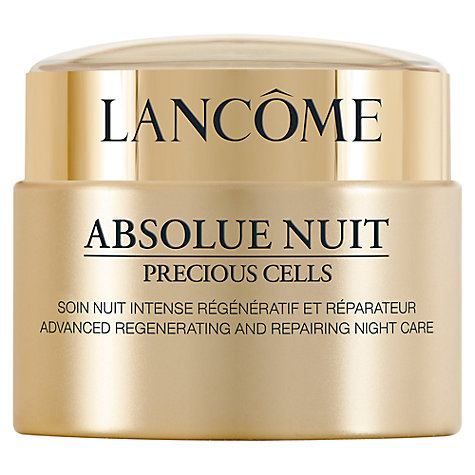 Buy Lancôme Absolue Yeux Precious Night Cream, 50ml Online at johnlewis.com
