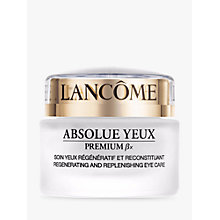 Buy Lancôme Absolue Yeux Premium ßx Eye Cream, 20ml Online at johnlewis.com