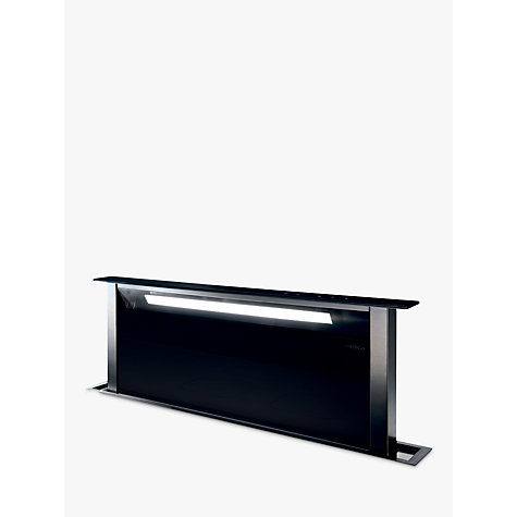 Buy Elica Andante Downdraft Cooker Hood, Black Online at johnlewis.com