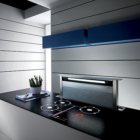 Buy Elica Andante Downdraft Cooker Hood, White Online at johnlewis.com