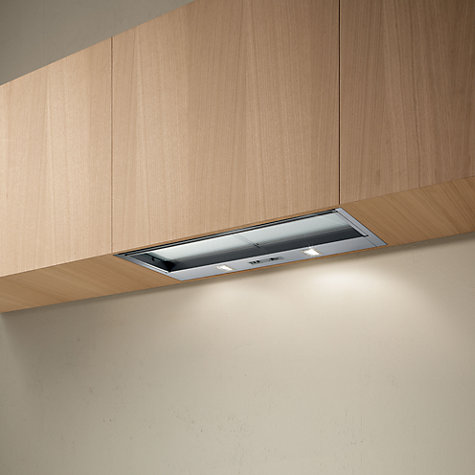 Buy Elica Sklock60 Built-in Cooker Hood, Grey Online at johnlewis.com