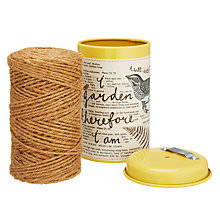 Buy Wild & Wolf Thoughtful Gardener String In Tin Online at johnlewis.com