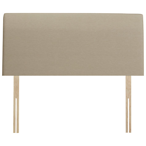 Buy John Lewis Bedford Strut Headboard, Pebble, Double Online at johnlewis.com