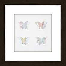 Buy Butterfly Maps Framed 3D Laser Cut, 24 x 24cm Online at johnlewis.com