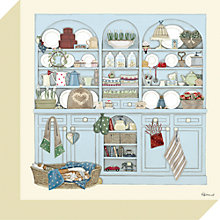 Buy Sally Swannell - Dresser Print on Canvas, 30 x 30cm Online at johnlewis.com