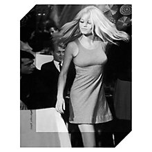 Buy Getty Images Gallery Brigitte Bardot Print on Canvas, 40 x 30cm Online at johnlewis.com