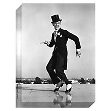 Buy Getty Images Gallery Fred Astaire Print on Canvas, 40 x 30cm Online at johnlewis.com