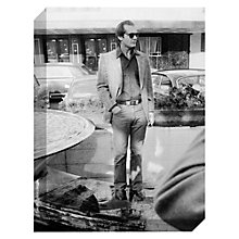 Buy Getty Images Gallery Jack Nicholson Print on Canvas, 40 x 30cm Online at johnlewis.com