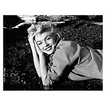 Buy Getty Image Gallery Marilyn Monroe 1954 Print on Canvas, 30 x 40cm Online at johnlewis.com