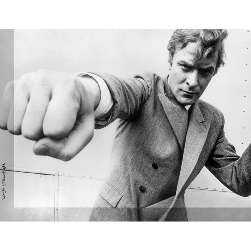 Getty Images Gallery Getty Image Gallery Michael Caine Attitude Print on Canvas, 30 x 40cm