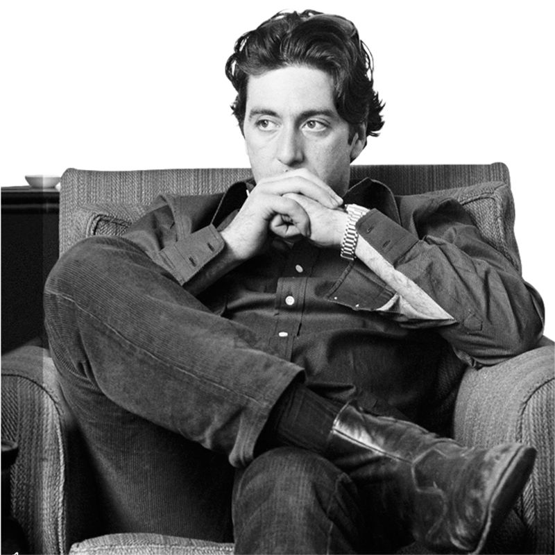 Getty Images Gallery Getty Image Gallery Thoughtful Al Pacino Print on Canvas, 40 x 30cm