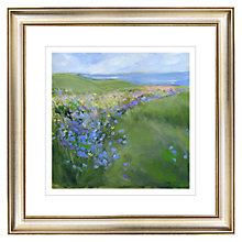 Buy Sue Fenlon - Cornflowers Gilt Framed Print, 57 x 57cm Online at johnlewis.com