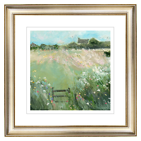 Buy Sue Fenlon - Sprinkling of Wild Flowers Gilt Framed Print, 57 x 57cm Online at johnlewis.com