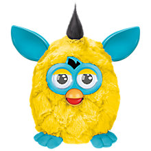 Buy Furby: The New Generation, Yellow/Teal Online at johnlewis.com