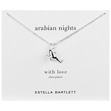 Buy Estella Bartlett Silver Plated Arabian Nights Pendant Necklace Online at johnlewis.com