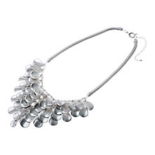 Buy Adele Marie Silver Plated Y-Shape Bead Necklace Online at johnlewis.com