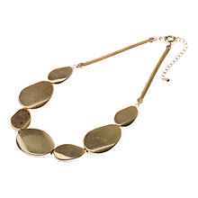 Buy Adele Marie Toned Pebble Necklace Online at johnlewis.com
