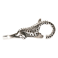 Buy Trollbeads Sterling Silver Seahorse Lock Clasp Online at johnlewis.com