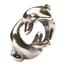 Buy Trollbeads Silver Playing Dolphins Bead Online at johnlewis.com