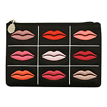 Buy Lulu Guinness Lips Grid Top Zip Handbag Online at johnlewis.com