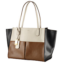 Buy Lauren by Ralph Lauren Newbury Leather Shopper Tote, Multi Online at johnlewis.com