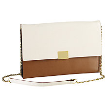 Buy Lauren by Ralph Lauren Chain Shoulder Handbag, Ivory Multi Online at johnlewis.com