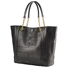 Buy Lauren by Ralph Lauren Guernsey Tote Bag, Black Online at johnlewis.com