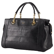 Buy Lauren by Ralph Lauren Guernsey Satchel Online at johnlewis.com