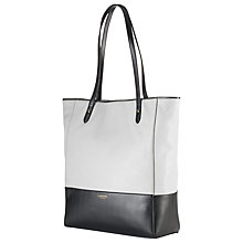 Buy Lauren by Ralph Lauren Gardiner Tote Bag, White/Black Online at johnlewis.com