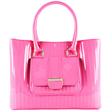 Buy Ted Baker Patent Block Colour Shopper Handbag Online at johnlewis.com