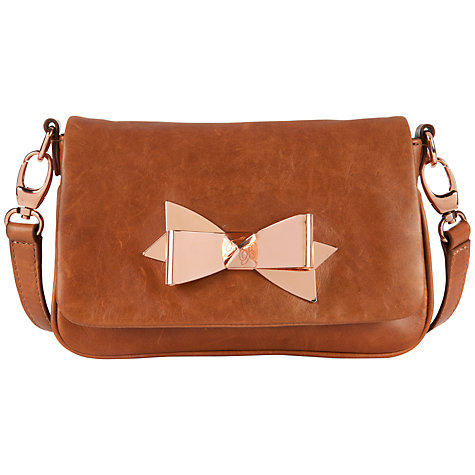 Buy Ted Baker Brinkle Bow Cross Body Bag Online at johnlewis.com