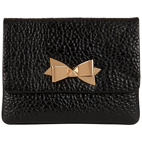 Buy Ted Baker Tomaz Bow Clutch Bag Online at johnlewis.com
