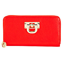 Buy DKNY Vintage Leather Zip Around Purse Online at johnlewis.com
