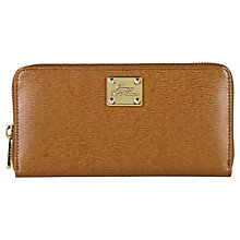 Buy Lauren by Ralph Lauren Newbury Zip Around Wallet, Tan Online at johnlewis.com