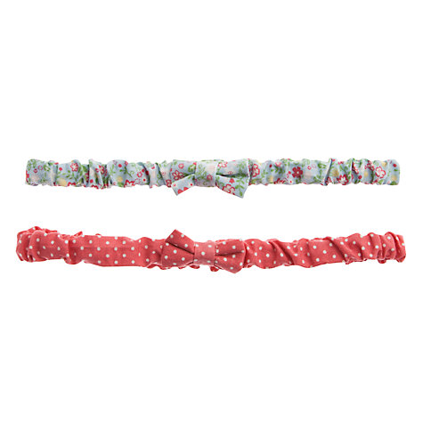 Buy John Lewis Girl Garden Headbands, Pack of 2, Multi Online at johnlewis.com