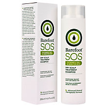 Buy Barefoot S.O.S. Intensive Care Dry Scalp Shampoo, 200ml Online at johnlewis.com