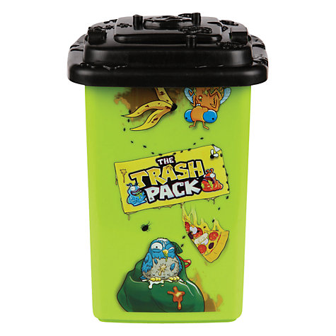 Buy The Trash Pack Collector's Wheelie Bin, Assorted Online at johnlewis.com