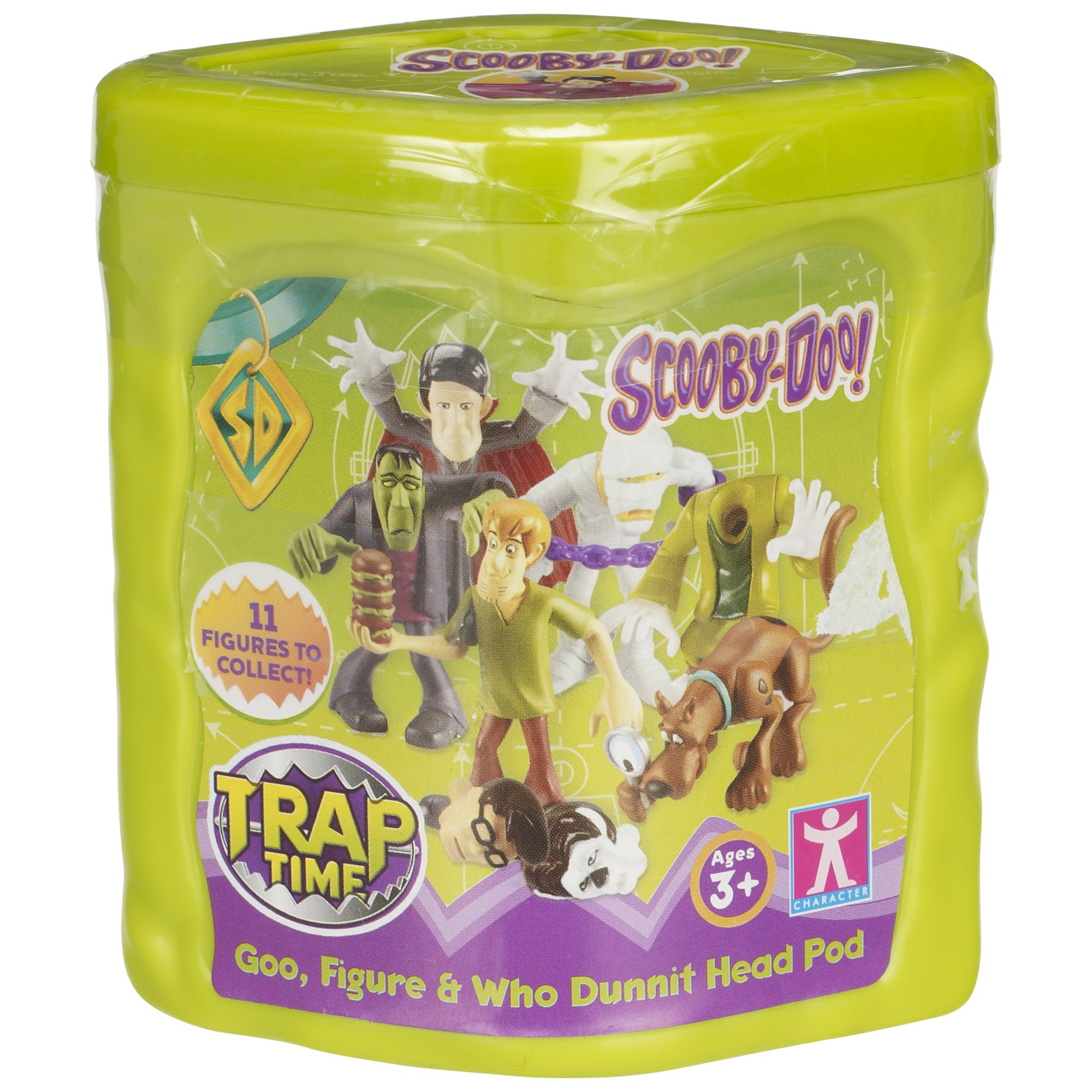 Scooby-doo Trap Time Goo, Figure And Whodunnit Head Pod, Assorted