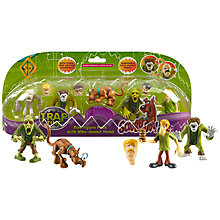 Buy Scooby Doo Trap Time Figures, Pack of 5, Assorted Online at johnlewis.com