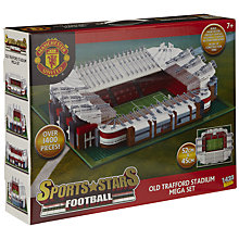 Buy Character Building Sports Stars Football Old Trafford Stadium Online at johnlewis.com