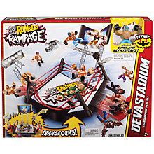 Buy WWE Rumblers Rampage Devastadium Online at johnlewis.com