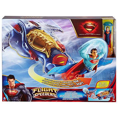 Buy Superman Man of Steel Ship Online at johnlewis.com