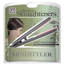 Buy Go Travel Slimline Straighteners Online at johnlewis.com